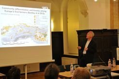 Stephen Shennan (Institute of Archaeology, University College London) at the distinguished lecture in October 2012