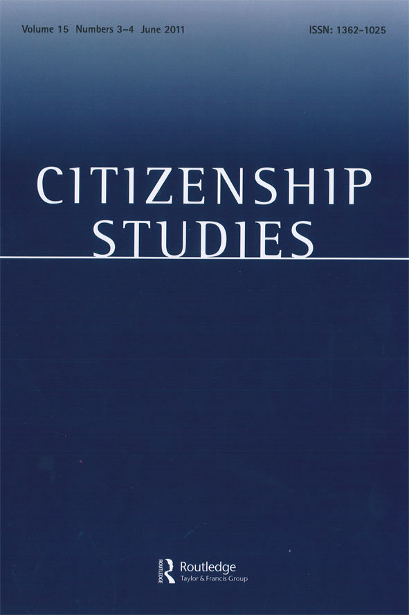 Citizenship Studies. Special Double Issue
