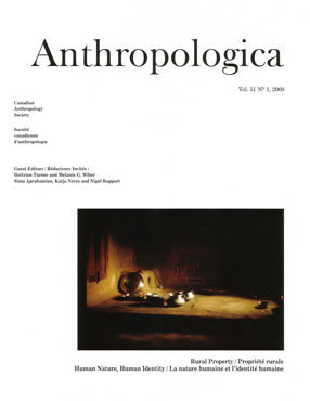 Rural Property. Anthropologica Vol. 51 No. 1