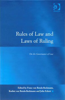 Rules of Law and Laws of Ruling. On the governance of law