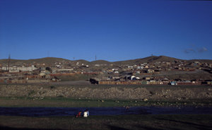 About half of the population in the Mongolian capital of Ulaanbaatar still uses transportable homesteads, the traditional yurt, at least during part of the year.