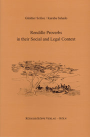 Rendille Proverbs in their Social and Legal Context