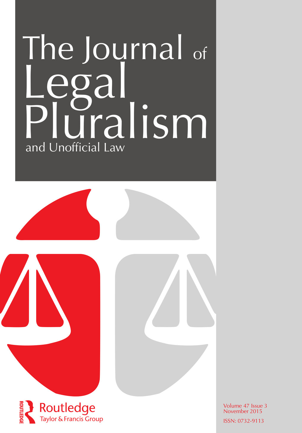 Journal of Legal Pluralism and Unofficial Law. Special Issue: Franz von Benda-Beckmann: Legal Pluralism in the Past and Future