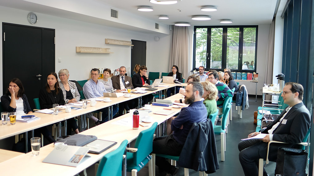 The workshop took place in the Max Planck Institute of Social Anthropology's new seminar room. ■ Photo: © Max Planck Institute for Social Anthropology