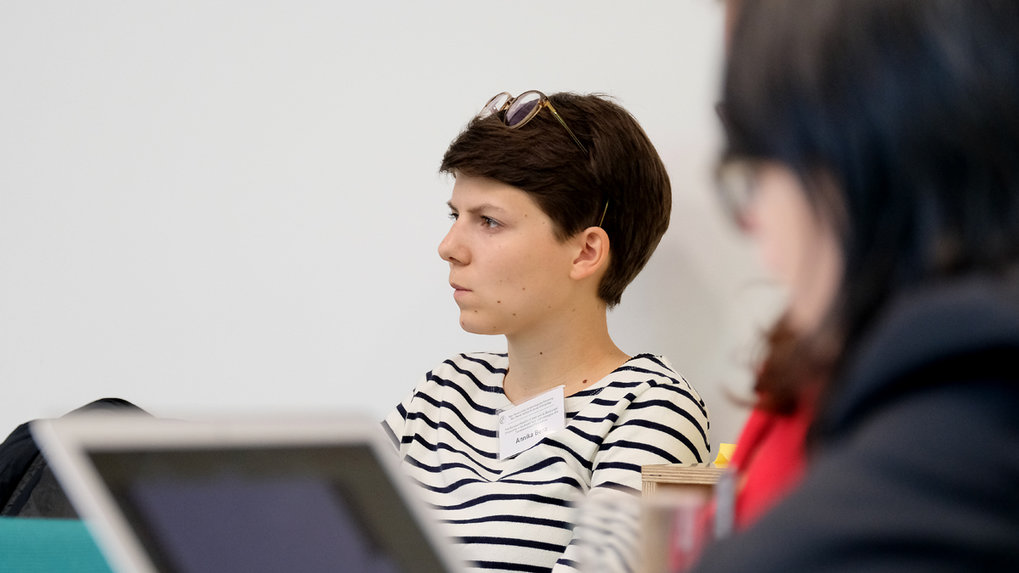 Annika Benz (Max Planck Institute for Social Anthropology, Halle), Emmy Noether Group student team member. ■ Photo: © Max Planck Institute for Social Anthropology