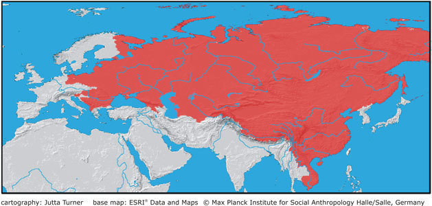 Eurasia in the Heyday of Marxist-Leninist-Maoist Socialism