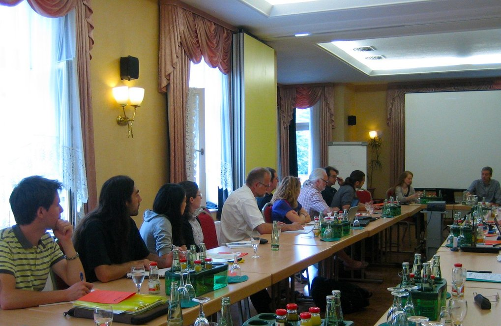 Summer school of the IMPRS ANARCHIE in Naumburg 2013