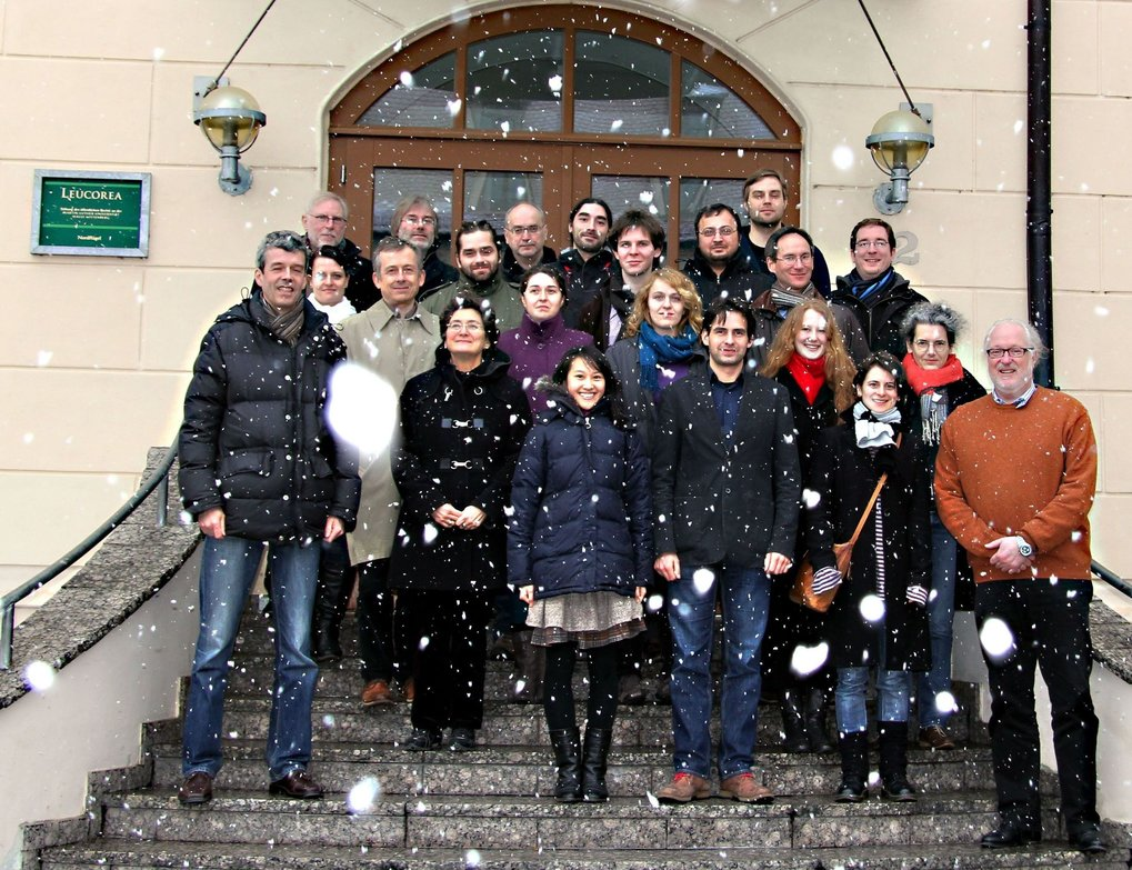 Winter school of the IMPRS ANARCHIE in Wittenberg 2013