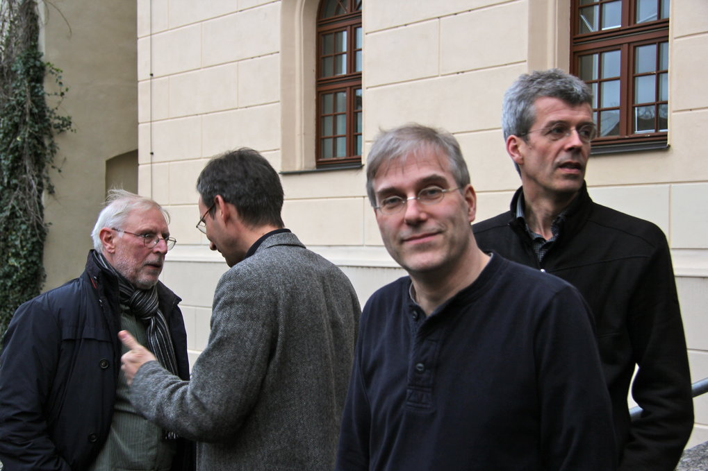 Members of the Principal Faculty at the Winter school 2015