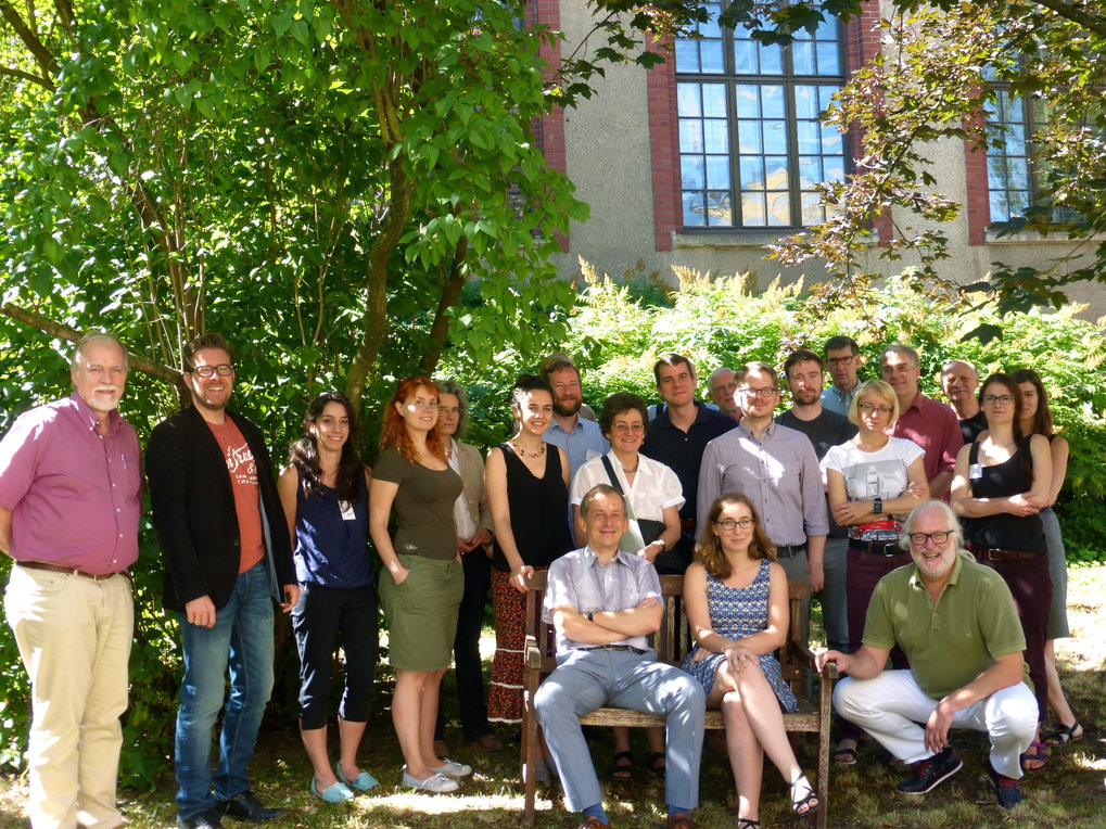 Summer school of the IMPRS ANARCHIE in Weimar, July 2016
