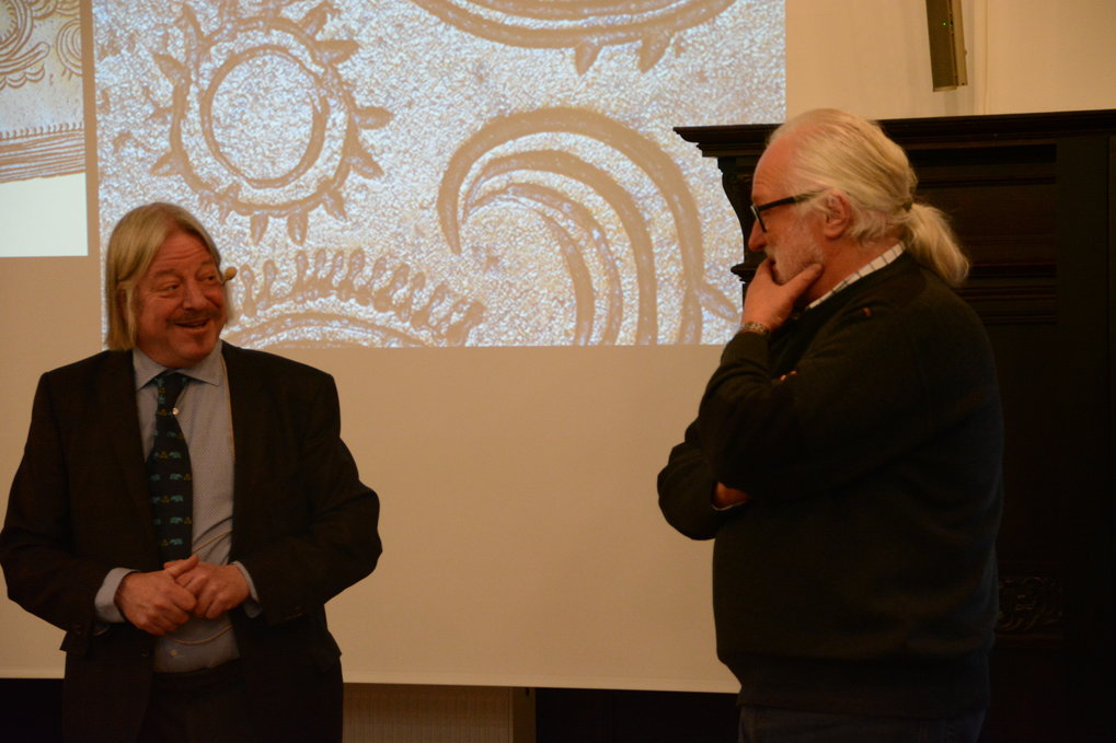 Flemming Kaul and Franҫois Bertemes at the ANARCHIE distinguished lecture 2016