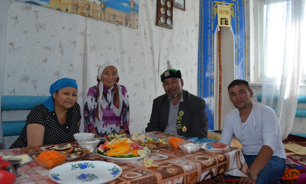 Zarina Mukanova is conducting research in a small village in southeastern Kazakhstan where