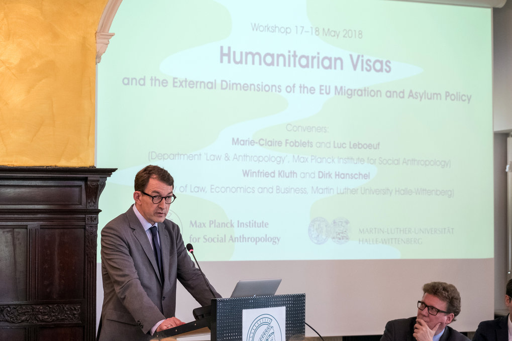 Workshop – Humanitarian Visas and the External Dimensions of the EU Migration and Asylum Policy