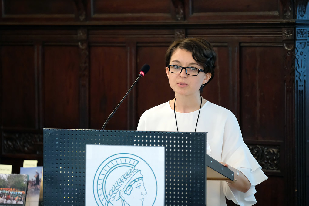 Swetlana Torno (Heidelberg University, Germany) ■ Title of her talk: Growing up and getting old: the role of care in shaping women's life courses in Tajikistan ■ Photo: © Max Planck Institute for Social Anthropology