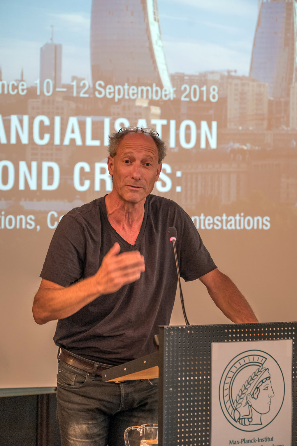 Don Kalb University of Bergen and University of Utrecht ■ Keynote Lecture: Financialization and Anthropological Theory: Reflections at the End of Western Hegemony ■ Foto: © Max-Planck-Institut für ethnologische Forschung