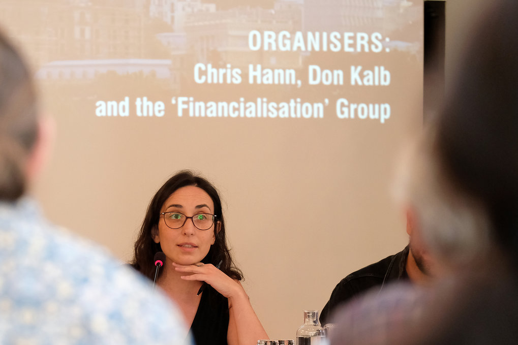 "Pictures of the conference ""Financialisation Beyond Crisis: Connections, Contradictions, Contestations"""