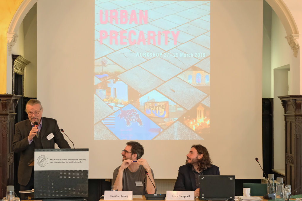 Workshopbericht 'Urban Precarity'